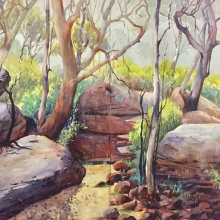 02 The Bushtrack II Here and There Exhib Julie Simmons
