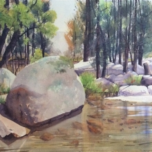 03 The Big Rock Here and There Exhib Julie Simmons