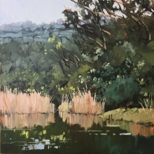 22 River Reflections Here and There Exhib Julie Simmons