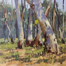 26 Dappled Here and There Exhib Julie Simmons